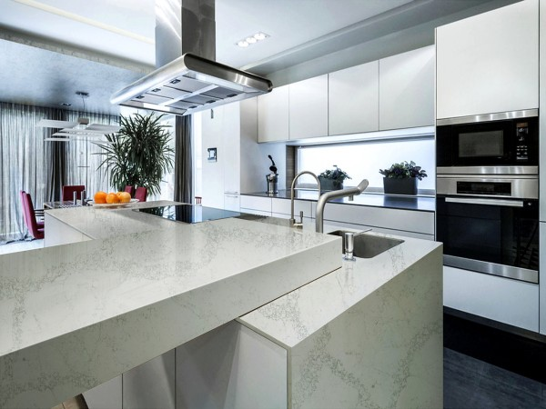 Quartz Stone M43 Calacatta Maximum