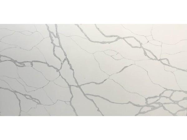 Quartz Stone M38 Calacatta Hachure